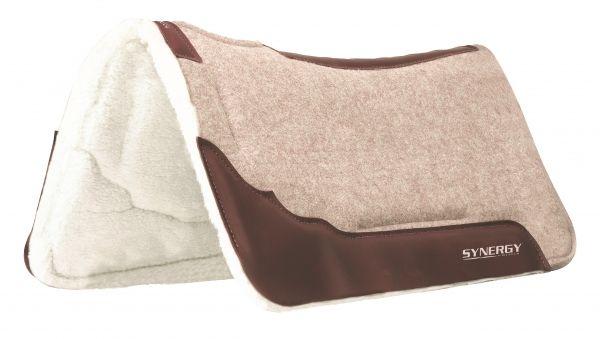 Weaver Synergy® Contoured Wool Blend Felt Saddle Pad