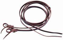 """Berlin Custom Leather Herman Oak Heavy Reins – 5/8"""" x 8ft - Oiled"""