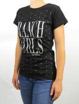 """RanchGirl T-SHIRT """"KYLIE"""" - Black"""