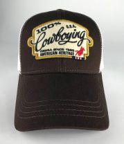 OSWSA 100% Cowboying Cap brown