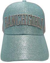 RanchGirls Cap Glitter - Ice Blue