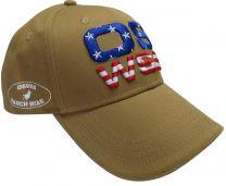 OSWSA BASIC CAP USA caramel