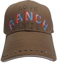RANCHGIRL LOVE CAP milkychocolate