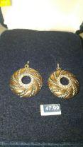 Montana Silversmith Earrings Copper