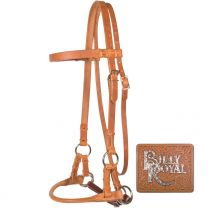 Billy Royal® Rolled Nose Leather SidePull