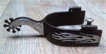 Black steel showsporen