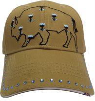RANCHGIRL BULL CAP curcuma
