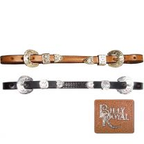 """Billy Royal® 1/2"""" Leather Show Curb Strap"""