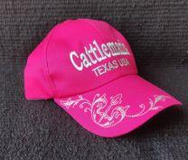 Cattleman's Cap - Pink