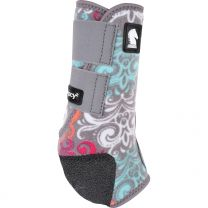 Classic Equine Legacy2 Boots - Pattern 2020 - Gray Scroll