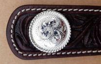 Hansen Silver Concho - Oakdale Rope