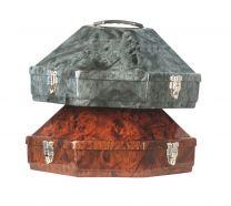 Classic Western Hat Carrier - Walnut Design