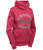 "Old Sorrel Women Hooded Cuff Sweat ""TEXAS"""