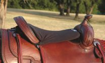 Cashel Western Tush Cushion Long