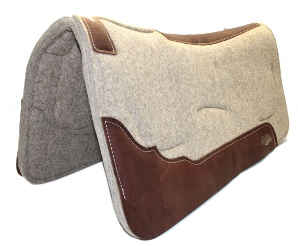 Weaver Contoured Wool Felt GEL Pad