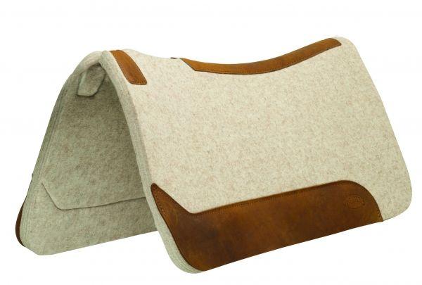 "Weaver Contoured Wool Blend Felt Pad – 3/4"""