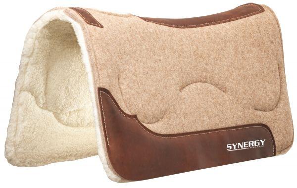 Weaver Synergy® Natural Fit Wool Blend Felt Performance Saddle Pad