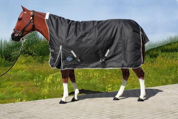 Tough Horse Regendeken inclusief 100gr Onderdeken - Half Neck - 1680D