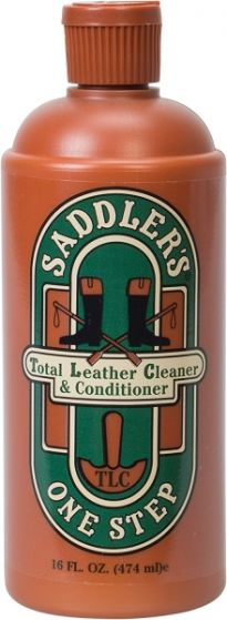 Saddler's One-Step Leather Cleaner and Conditioner
